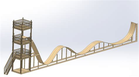 how to make a roller coaster in your backyard buildits in progress roller coaster mechanical design