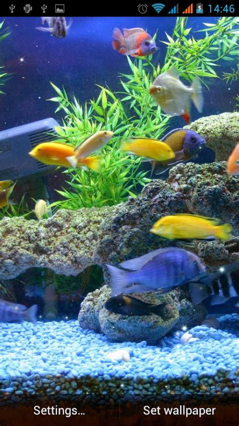 Aquarium Fond d'écran animé ? Applications Android sur