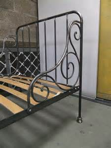 Single Wrought Iron Bed Frame Wrought Iron Single Bed Ironart Of Bath