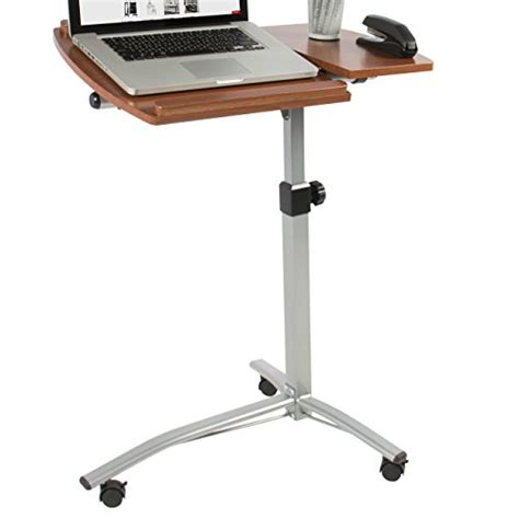 Best Laptop Stand For Desk Best Choice Products Angle Height Adjustable Rolling Laptop Desk Cart Bed Hospital Table
