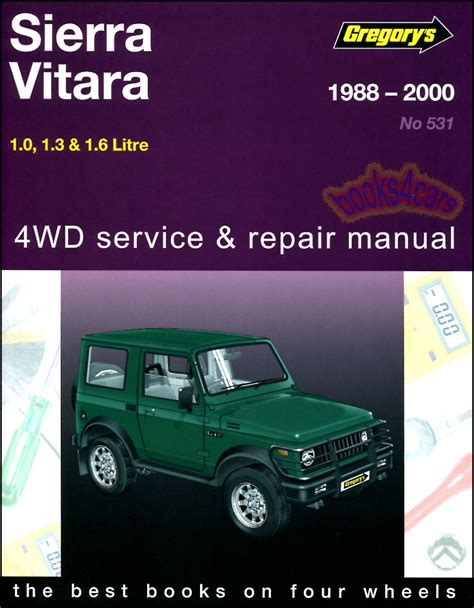 automotive repair manual 1992 suzuki samurai user handbook shop manual service repair book suzuki sj samurai vitara sierra gregorys haynes