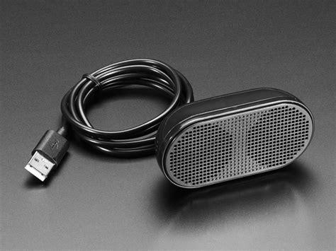 Speaker Mini Usb mini external usb stereo speaker id 3369 12 50 adafruit industries unique diy