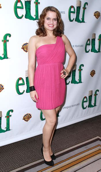 amy spanger zimbio amy spanger photos photos quot elf quot broadway opening night