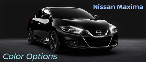 nissan maxima midnight edition interior 2016 nissan maxima exterior and interior colors