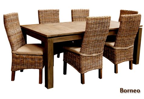 rattan dining room sets rattan dining room set azzling dining room chairs with