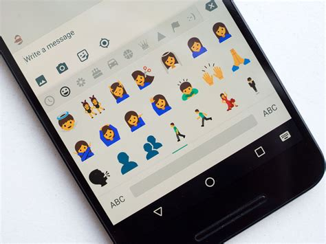 free emojis for android phone nougat changes android s emoji to look like android central
