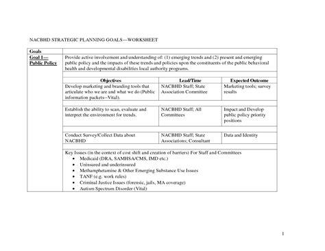 Strategic Planning Worksheet by 14 Best Images Of Goal Planning Worksheet Couples Goal