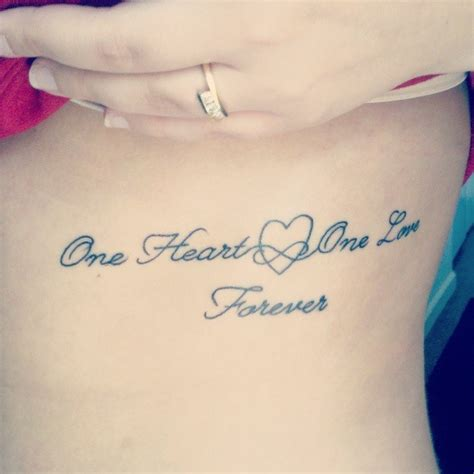 one love one life tattoo my i it one one forever