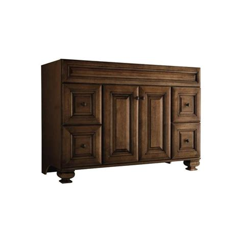 allen and roth bathroom cabinets allen roth ballantyne mocha with glaze traditional