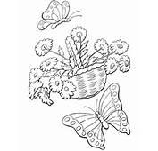 Dibujos Para Pintar Flores  AZ Colorear