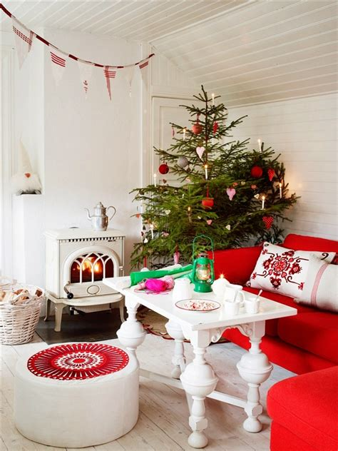 holiday home decorating ideas 55 dreamy christmas living room d 233 cor ideas digsdigs