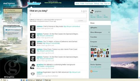twitter layout for powerpoint customize your twitter with these cool powerpoint