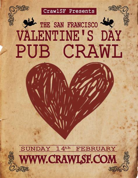 sf valentines day s day san francisco pub crawl tickets 02 14 16