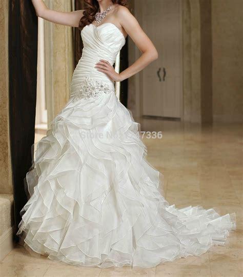 Dress White Sz 2 7th new white ivory strapless wedding dress custom all size 2 4 6 8 10 12 14 16 18 hs010 in