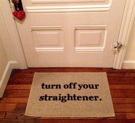 turn straightener rug turn your straightener door mat area rug by bethereinfive