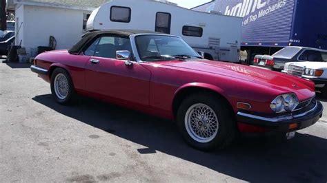 1989 jaguar xjs 12 cylinder v12 mts
