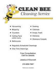 janitorial flyer templates cleaning service flyer template images