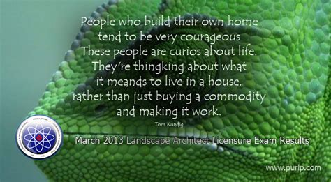 Landscape Architecture Quotes March 2013 Landscape Architect Licensure Results