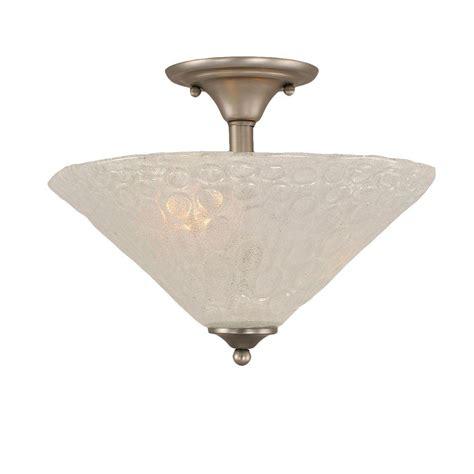 brushed nickel semi flush ceiling light philips equinox 2 light brushed nickel ceiling semi flush