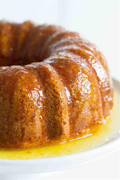 orange glazed bundt cake taste and tell