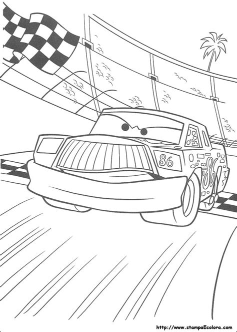 Disegni De Cars Smokey The Coloring Pages