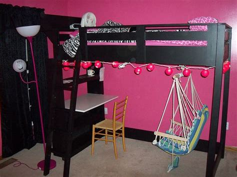 Bunk Bed With Swing White Build A What Goes The Loft Bed How About A Big Bookcase Free And Easy Diy