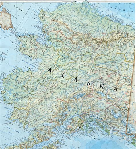 alaska map in usa maps of the usa the united states of america map
