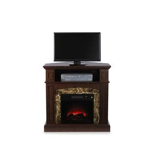 Essential Home Electric Fireplace by Essential Home Finley Faux Marble Electric Fireplace