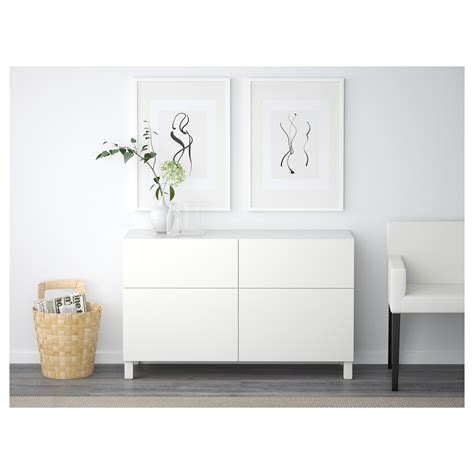 ikea besta storage combination with doors best 197 storage combination w doors drawers lappviken white