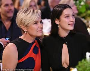 how does yolanda foster do her hair bella hadid with the weeknd after revealing she has lyme