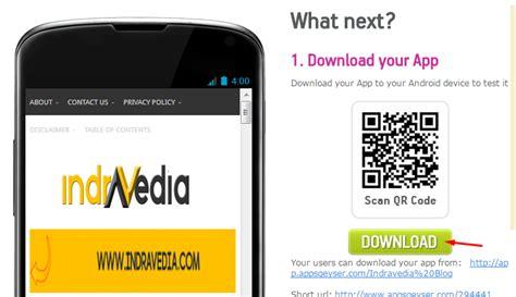 membuat web berbasis android salam cara praktis membuat web blog menjadi aplikasi