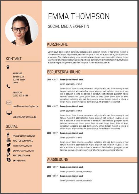 Vorlage Moderner Lebenslauf Word ᐅ Lebenslauf Muster Und Vorlagen In Word Kostenlose Vorlagen