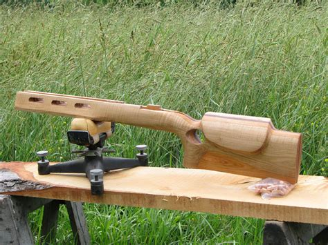 bench rest stocks f class benchrest rifle stock tiger maple cherry and walnut by haldougherty lumberjocks
