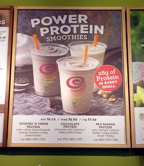 protein jamba juice jamba juice pb and banana protein recipe