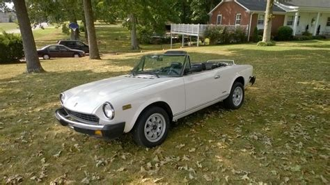 1985 fiat pininfarina spider for sale in cross plains