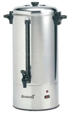 Boswell PU200 100 Cup Hot Water Boiler Pot Stainless Steel
