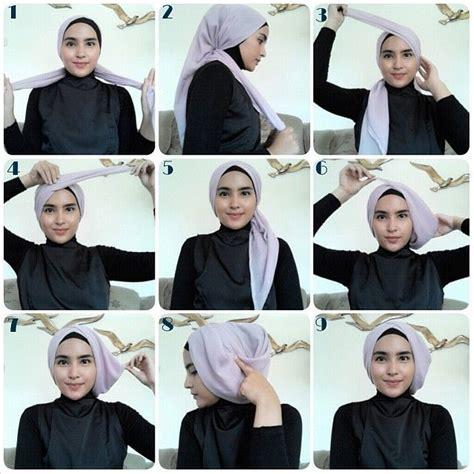 tutorial hijab pesta modrn tutorial hijab segi empat pesta hijab fashion trend and