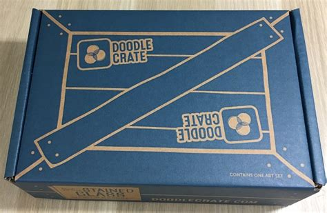 doodle crate doodle crate subscription box review coupon may 2016