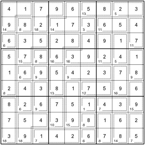 printable killer sudoku easy killer sudoku puzzle solution for syndication puzzles