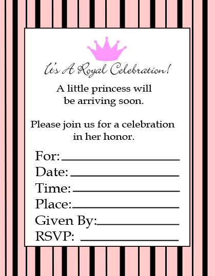 baby shower invitations printable templates blank baby shower invitations template best template