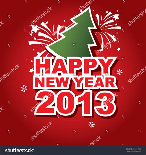 new year banner vector vector banner new year 2013 115461535