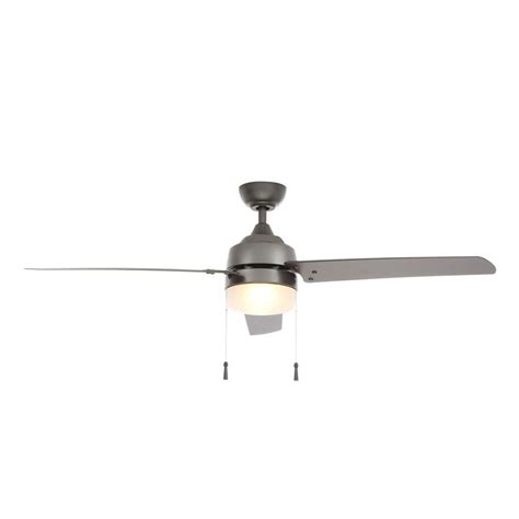 hton bay carrington 60 in natural iron ceiling fan