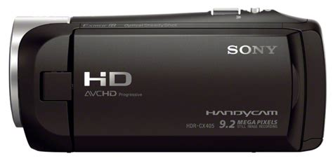 Sony Hdr Cx405 Handycam 9 2 Mp sony hdr cx405 9 2 mp 1080p camcorder with 30x zoom