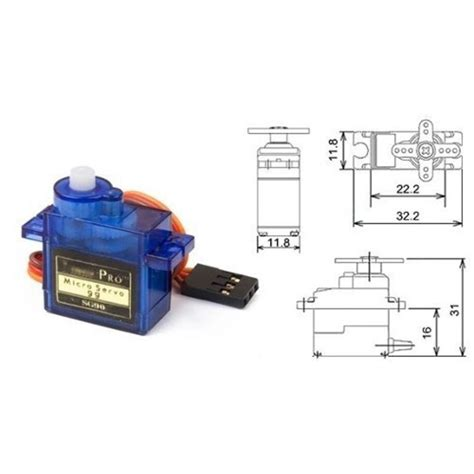 buyhere22 tower pro sg 90 sg90 9g micro servo for car