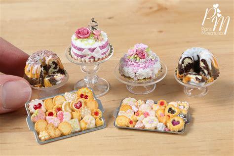miniature cakes miniatures miniatures cookies and beautiful cakes