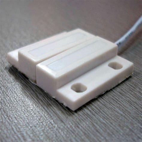 Wired Magnetic Contatc For Wooden Door magnetic contact door sensor window sensor wood and teel