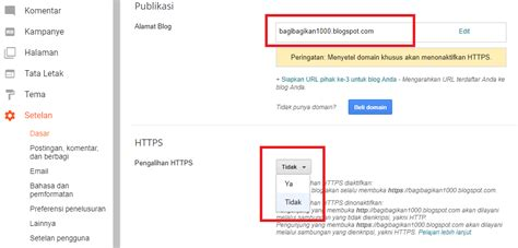 Blogger Https Custom Domain | cara mengaktifkan https blogger custom domain