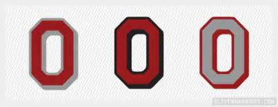 Ohio State Block O Outline by Ohio State Buckeyes Clipart 68