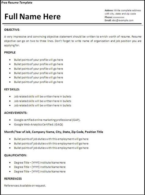 impressive stay at home resume sle how to create an impressive resume