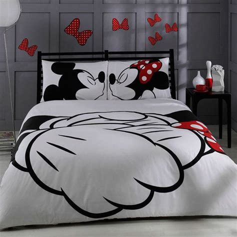 disney bedding disney mickey minnie adore bedding set by